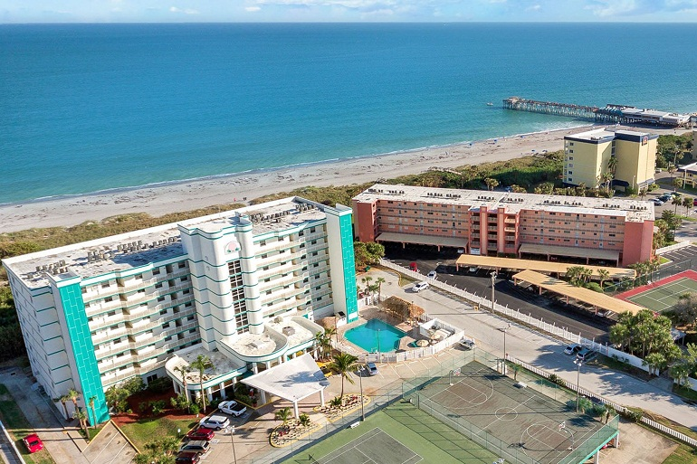 Best Oceanfront Vacation Rental Resorts in Cocoa Beach Florida